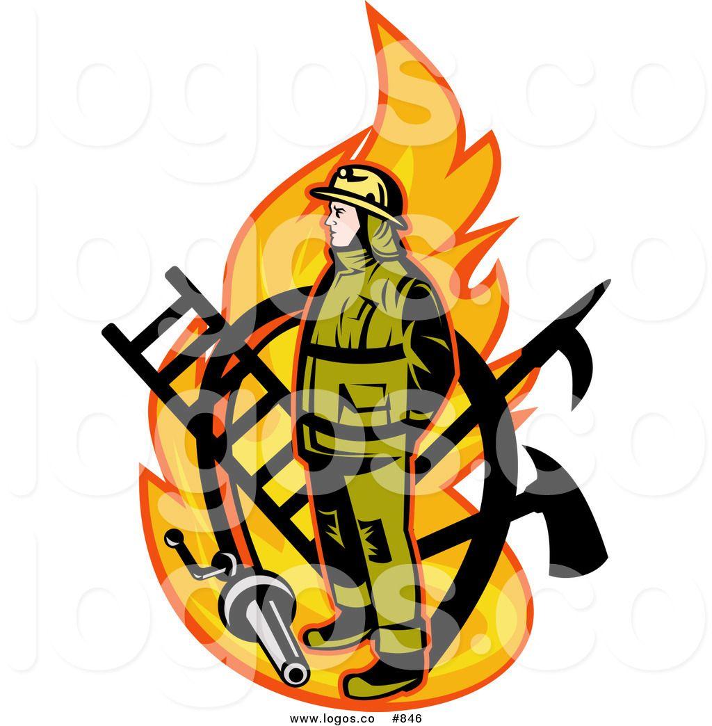 Fireman Emblem Clipart Clipart Suggest Fireman