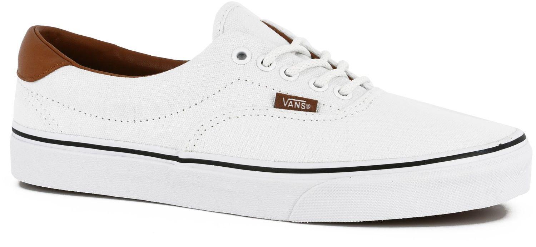 86fb11e8c25875 Vans Washed C L Era 59 shoes true white