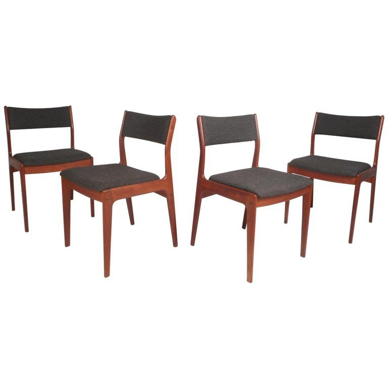 Surprising Set Of Four 1Stdibs Dining Room Chairs Danish Dining Ocoug Best Dining Table And Chair Ideas Images Ocougorg