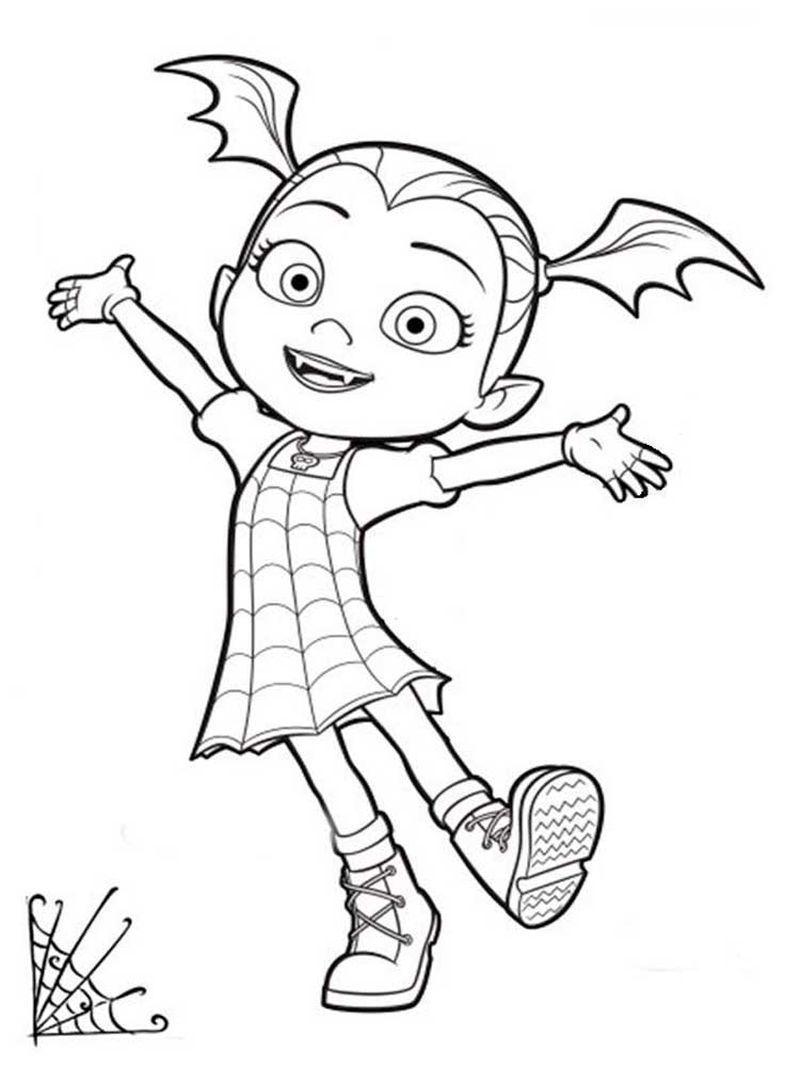 Disney Junior Vampirina Malvorlagen. Vampirina ist ein  Disney