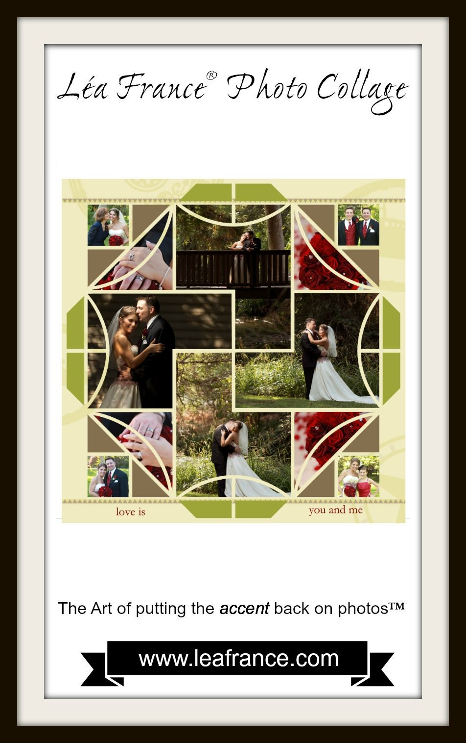 Hope all our friends had a great weekend? Here's something greater! George and Monika lovely wedding documented in a fantastic Digital Stained Glass page! Comments anyone? #LeaFrance #Scrapbooks