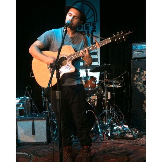 Michael Malarkey performed on Thursday at Eddie's Attic