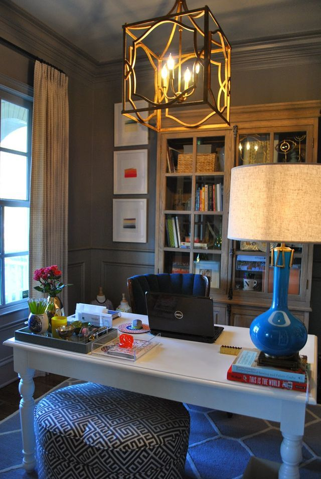 One Room At A Time The Home Office Hello Happiness With