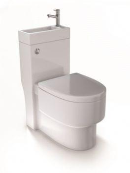 0caac0f2bfafe Aquarius Combined SpaceSaver WC Toilet and Basin AQSSWC