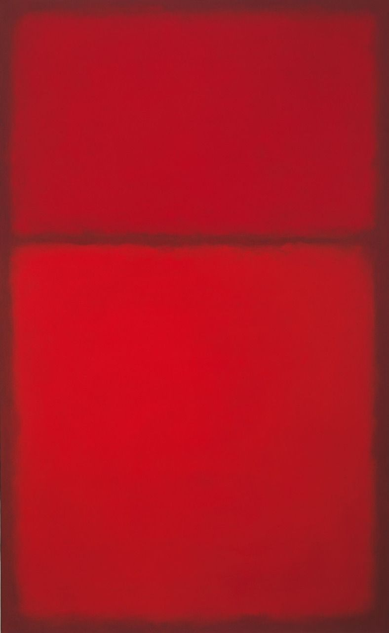 bildwerk:  Mark Rothko Untitled, 1957-63 Öl auf Leinwand 170,8 x 105,4 cm Privatbesitz, Courtesy of Gagosian Gallery