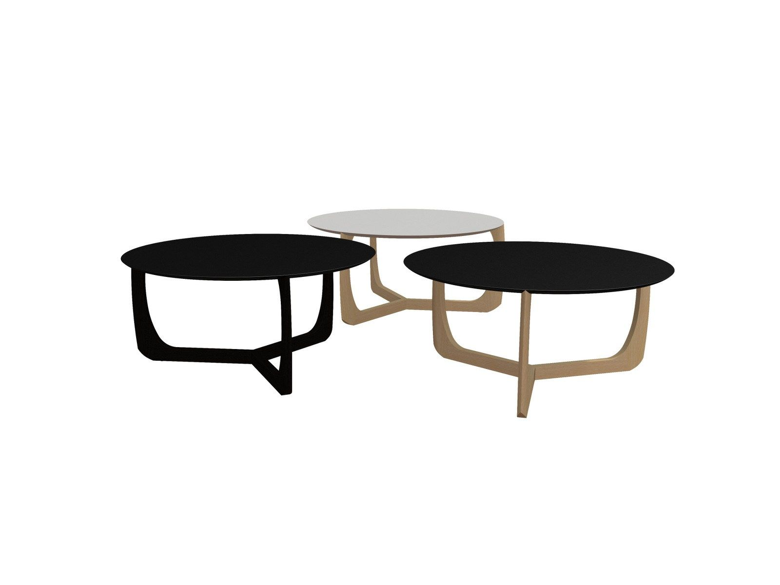 LOW ROUND COFFEE TABLE LILI BY ADDINTERIOR