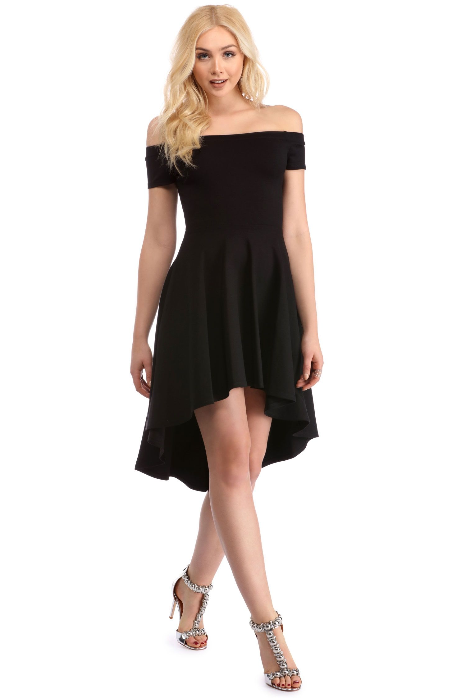 Black all the rage skater dress quinceanera and fashion