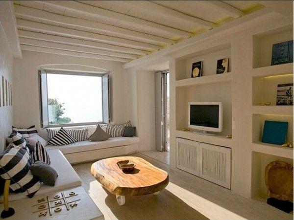 Mediterranean Living Room Wooden Furniture