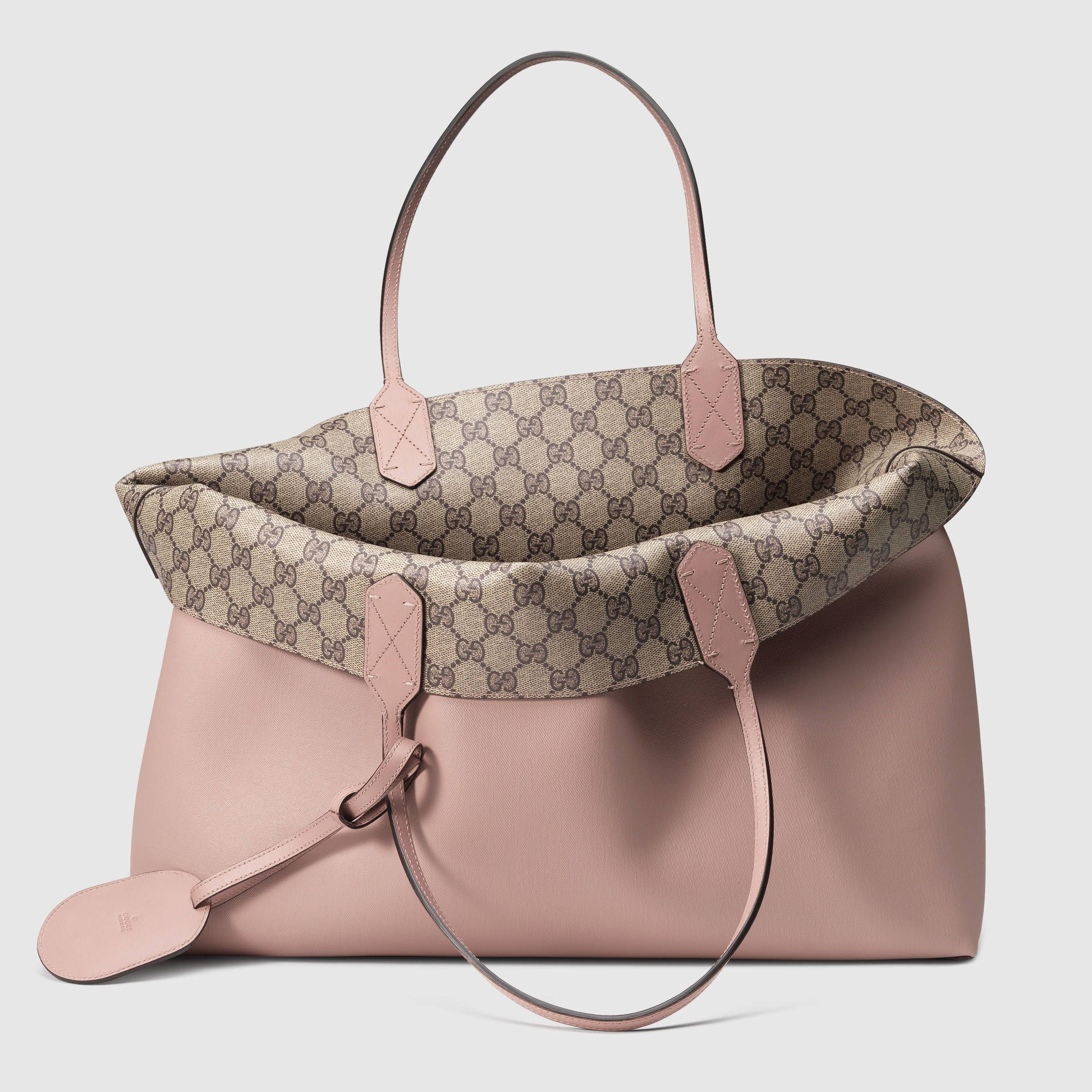 Gucci Women - Reversible GG leather tote -  1 3fed0fe9b6
