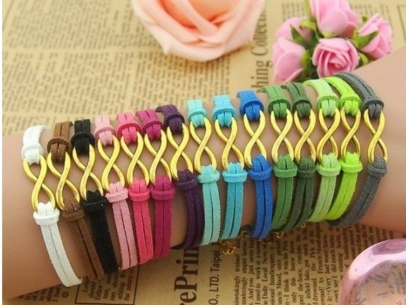christmas gift bracelet cheap friendship infinity jewelry colorful - Christmas Gifts For Friends Cheap