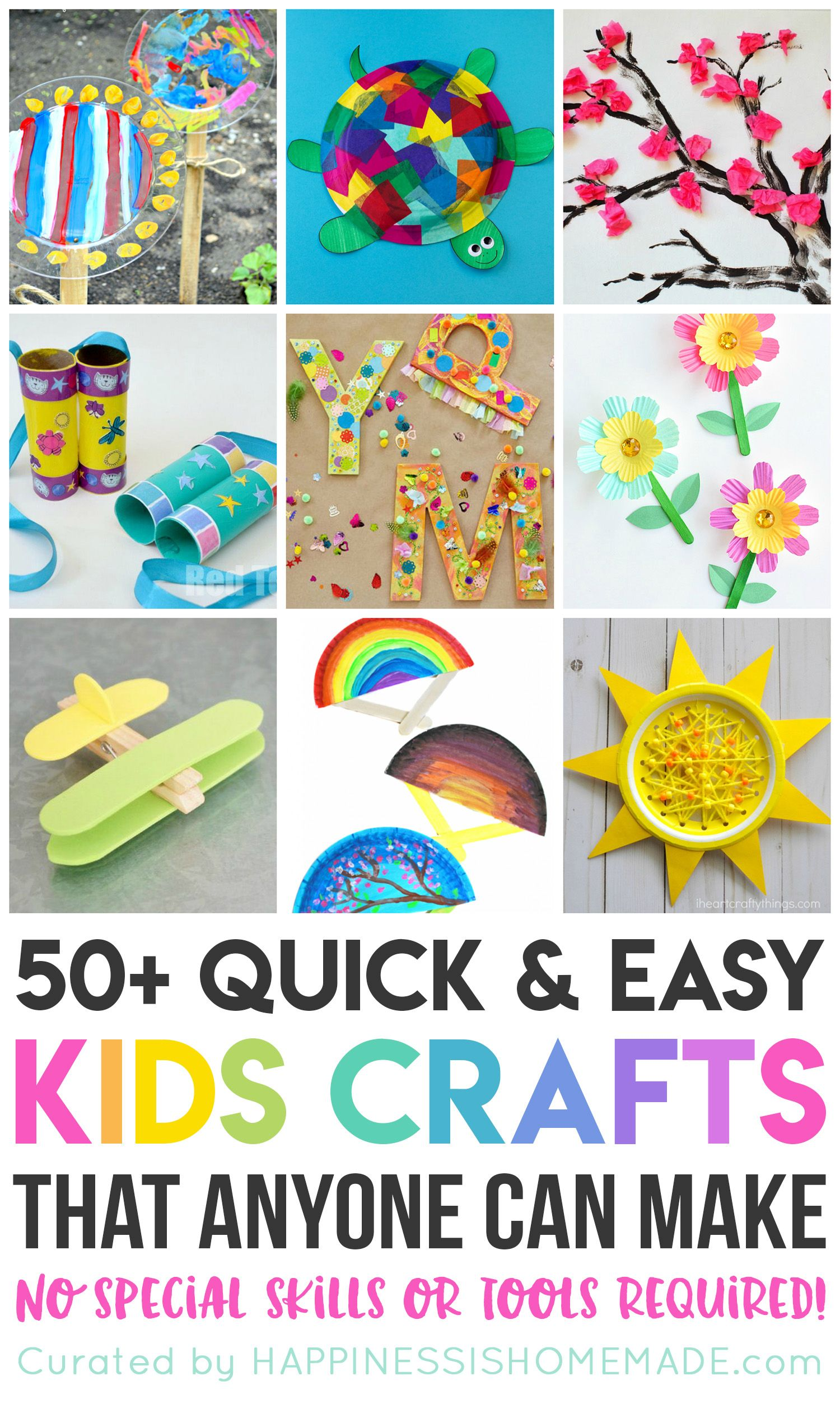 50 Quick Amp Easy Kids Crafts That Anyone Can Make Quick