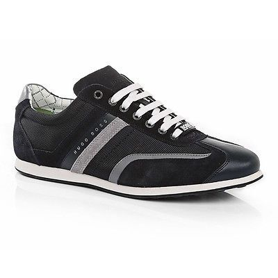 Hugo Boss Stiven Mens 50247608 403 Dark Blue Stylish Shoes Casual Sneakers Sz 11 Men S Shoes Sneakers Shoes
