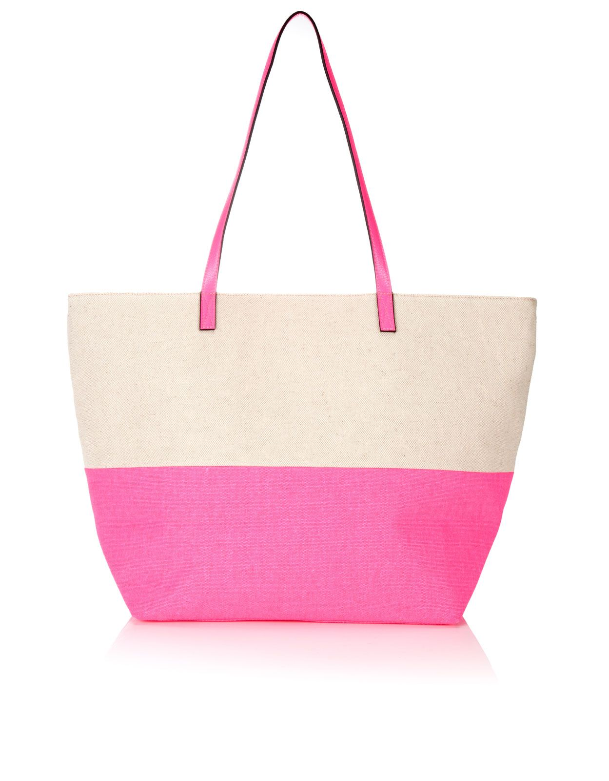 Honeymoon Neon Beach Tote Bag | Pink | Accessorize | Beach Wedding ...