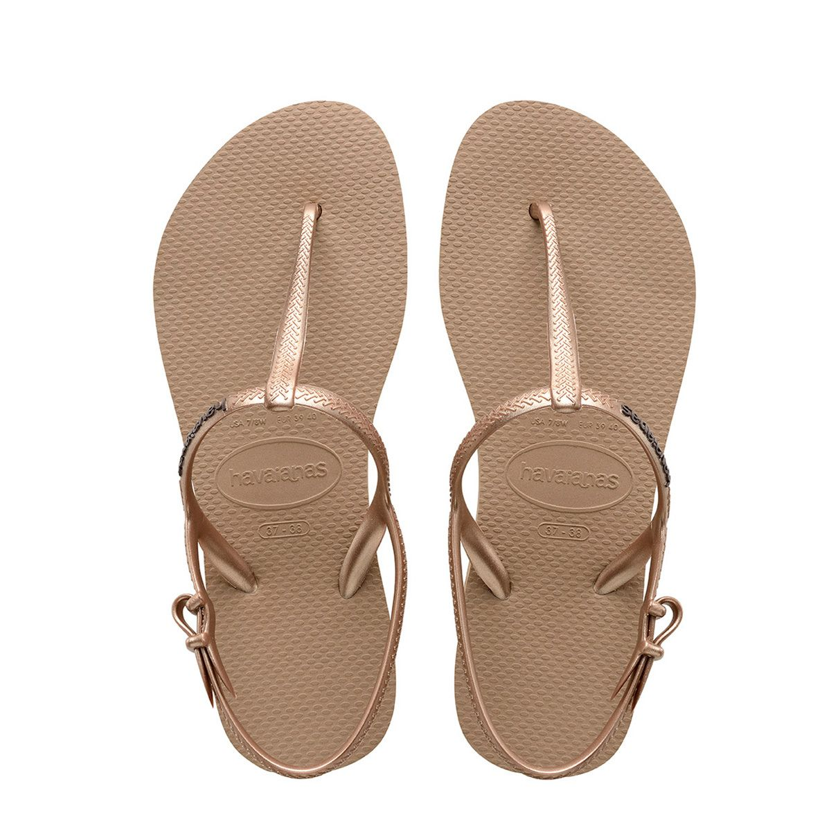 87255194a582 FREEDOM SLIM SANDAL ROSE GOLD