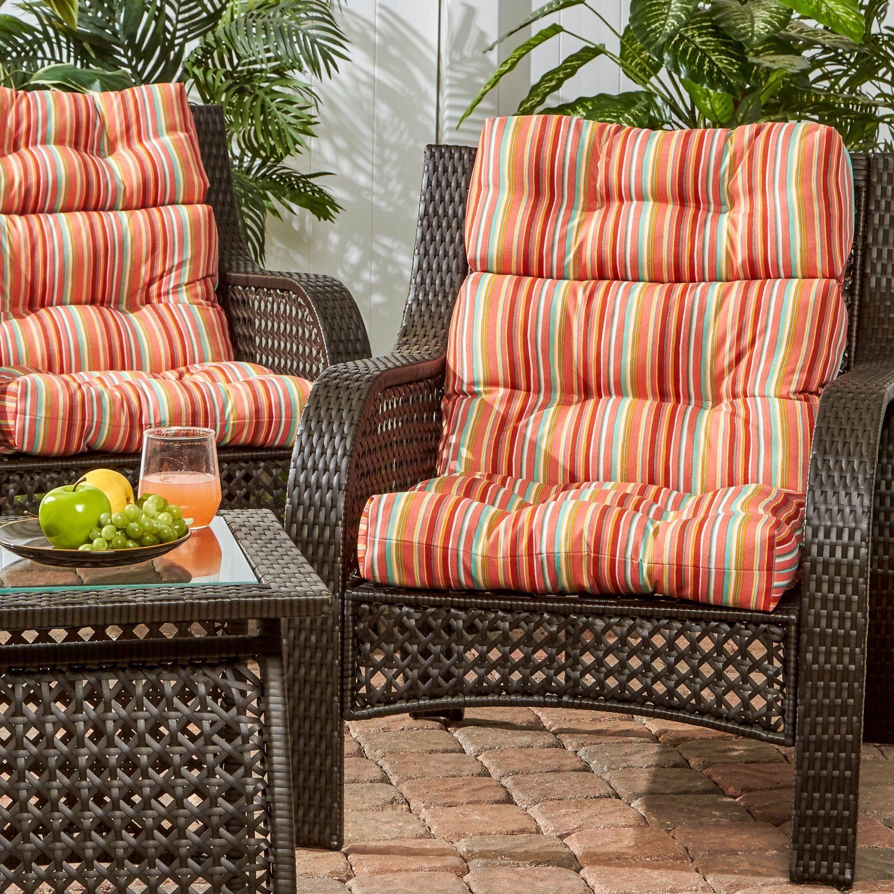 high back recliner chair cushions