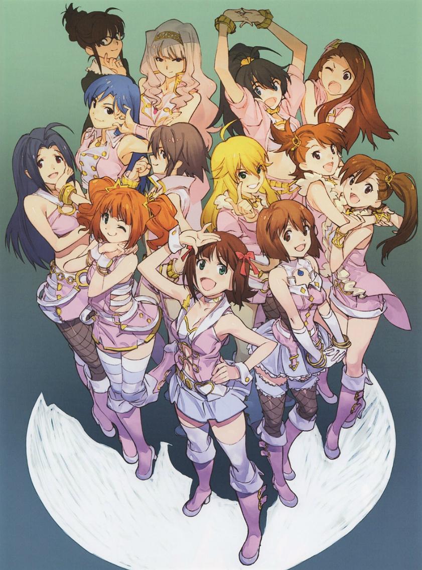 the art of yoh yoshinari character art art anime characters