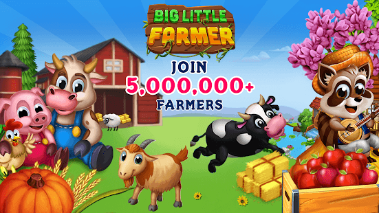 Big Little Farmer Mod Apk V1 6 0 Unlimited Money Offline Android