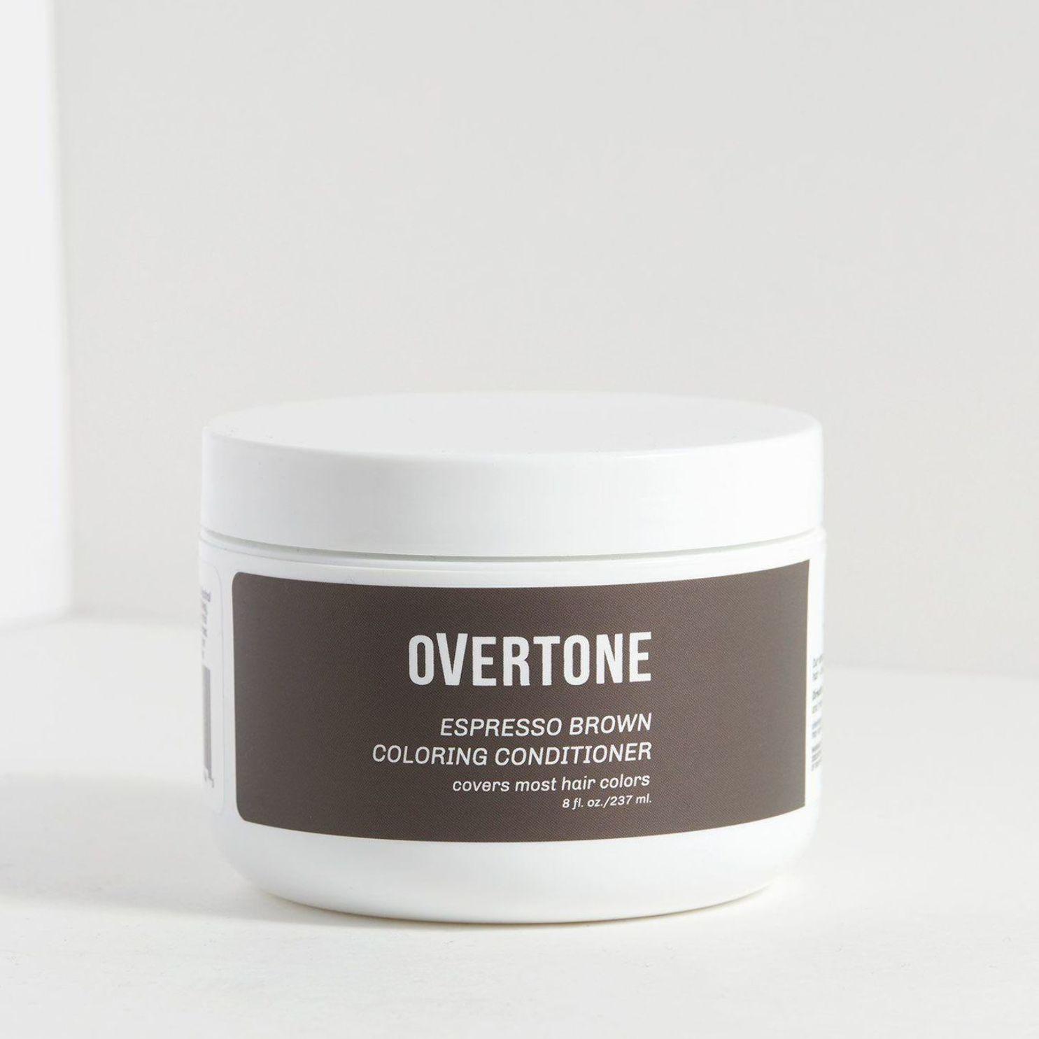 Espresso Brown Coloring Conditioner Overtone Haircare En 2020