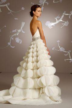 Unique Wedding Dresses For Cool Theme