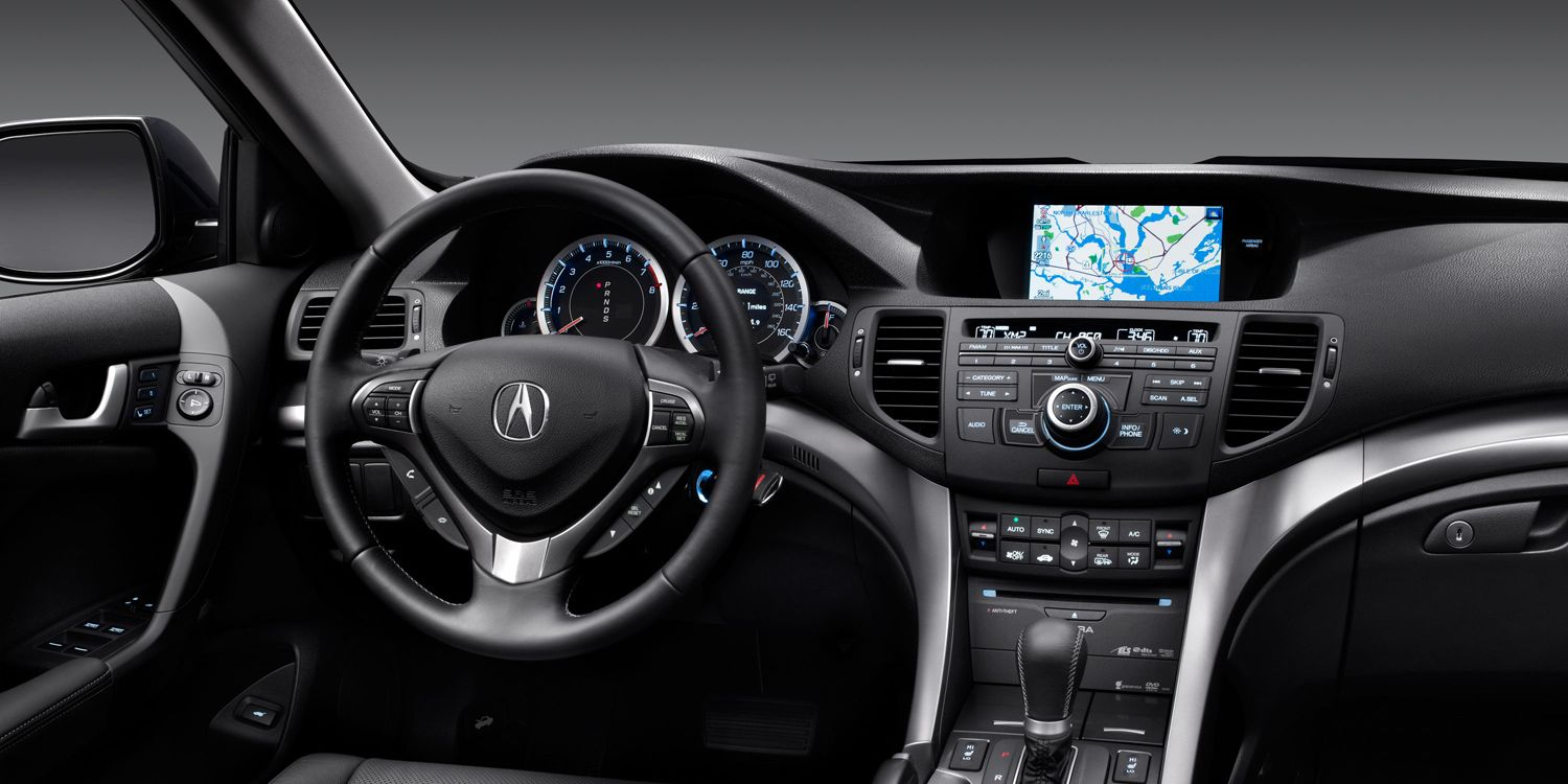 2012 acura tsx with technology package and ebony interior. Black Bedroom Furniture Sets. Home Design Ideas