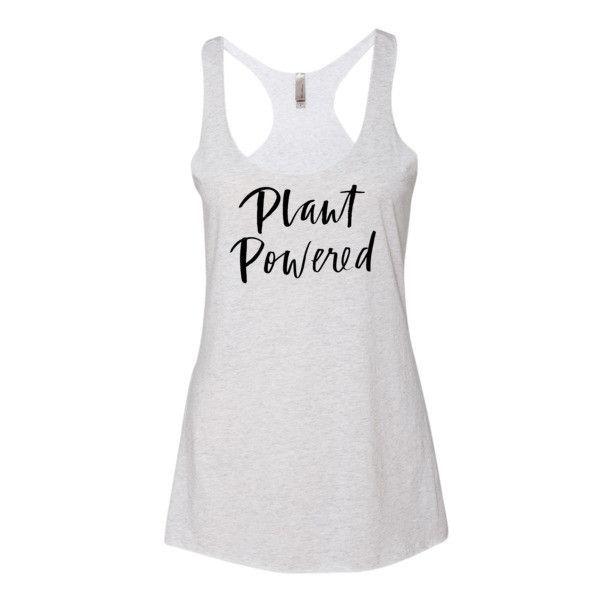 Plant Powered Tunic Tank Top