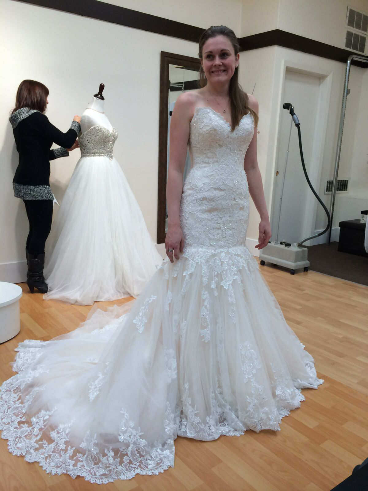 My beautiful sister in her Maggie Sottero Marianne dress, wedding is ...