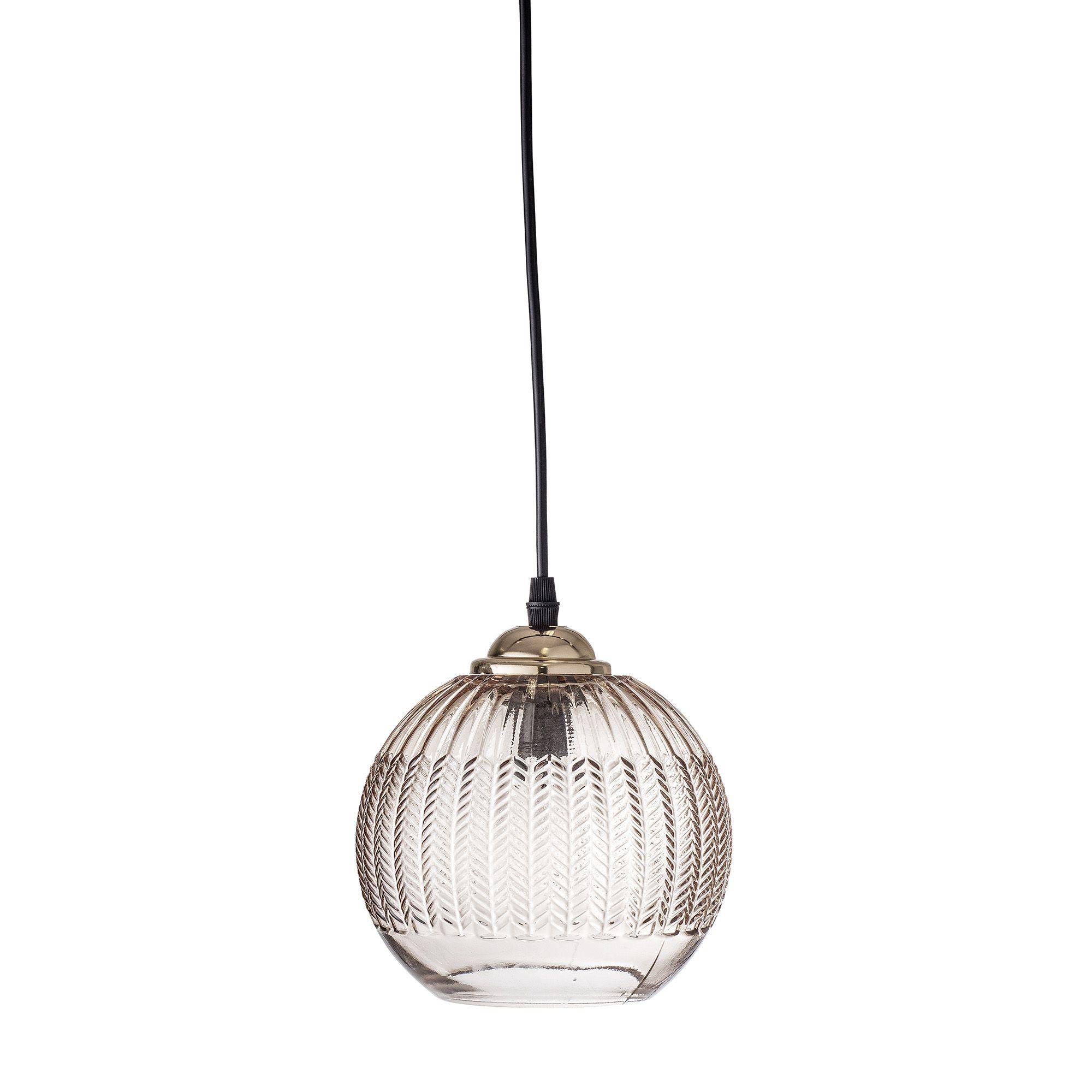 Bloomingville Kleine Retro Hangelampe Aus Glas Braun Myadele Retro Hangelampe Anhanger Lampen Glaslampen