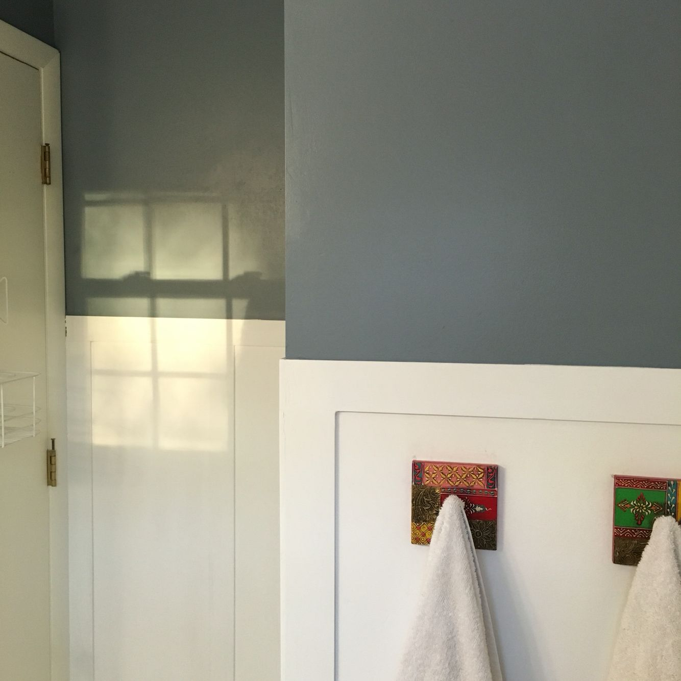 Hgtv by sherwin williams paint in nevermore grey for Sherwin and williams paint