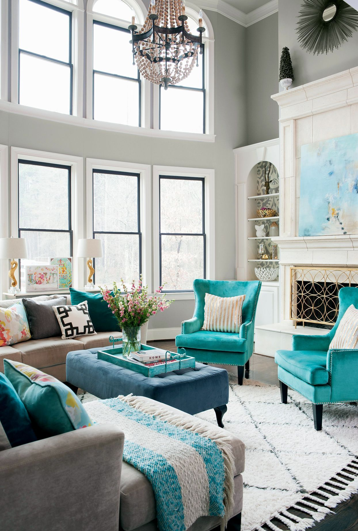 20 Living Room Furniture Arrangement Ideas For Any Size Space In 2021 Living Room Color Schemes Rugs In Living Room Living Room Color