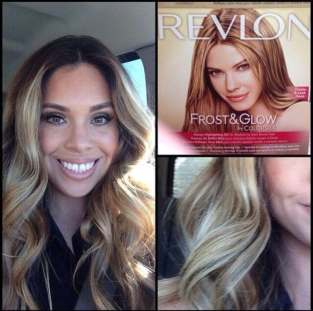 Revlon frost and glow honey before and after