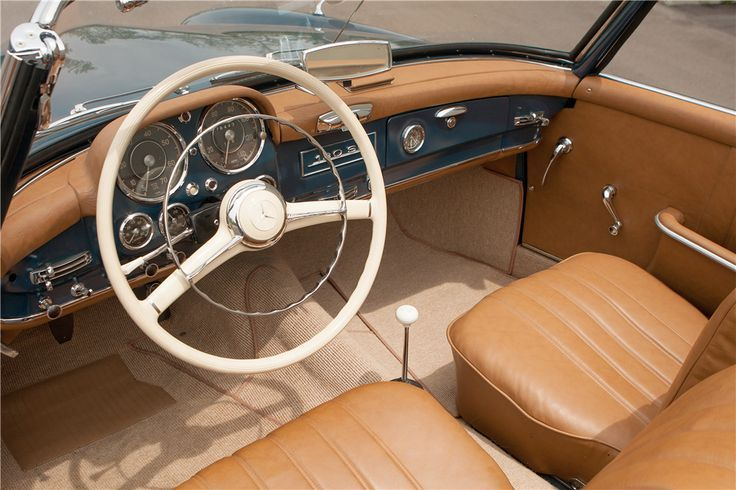 1956 MERCEDES-BENZ 190 SL ROADSTER – Barrett-Jackson Auction Company – World's Greatest Collector Car Auctions