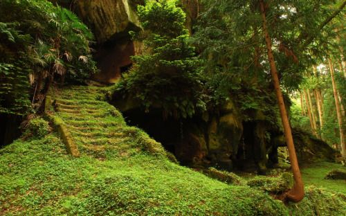 landscapelifescape Ancient burial caves of the Zuiganji
