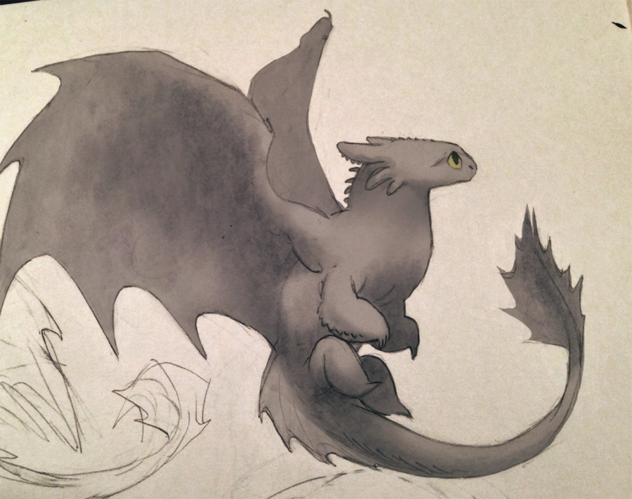 toothless   How train your dragon, Dragon sketch, Sketches