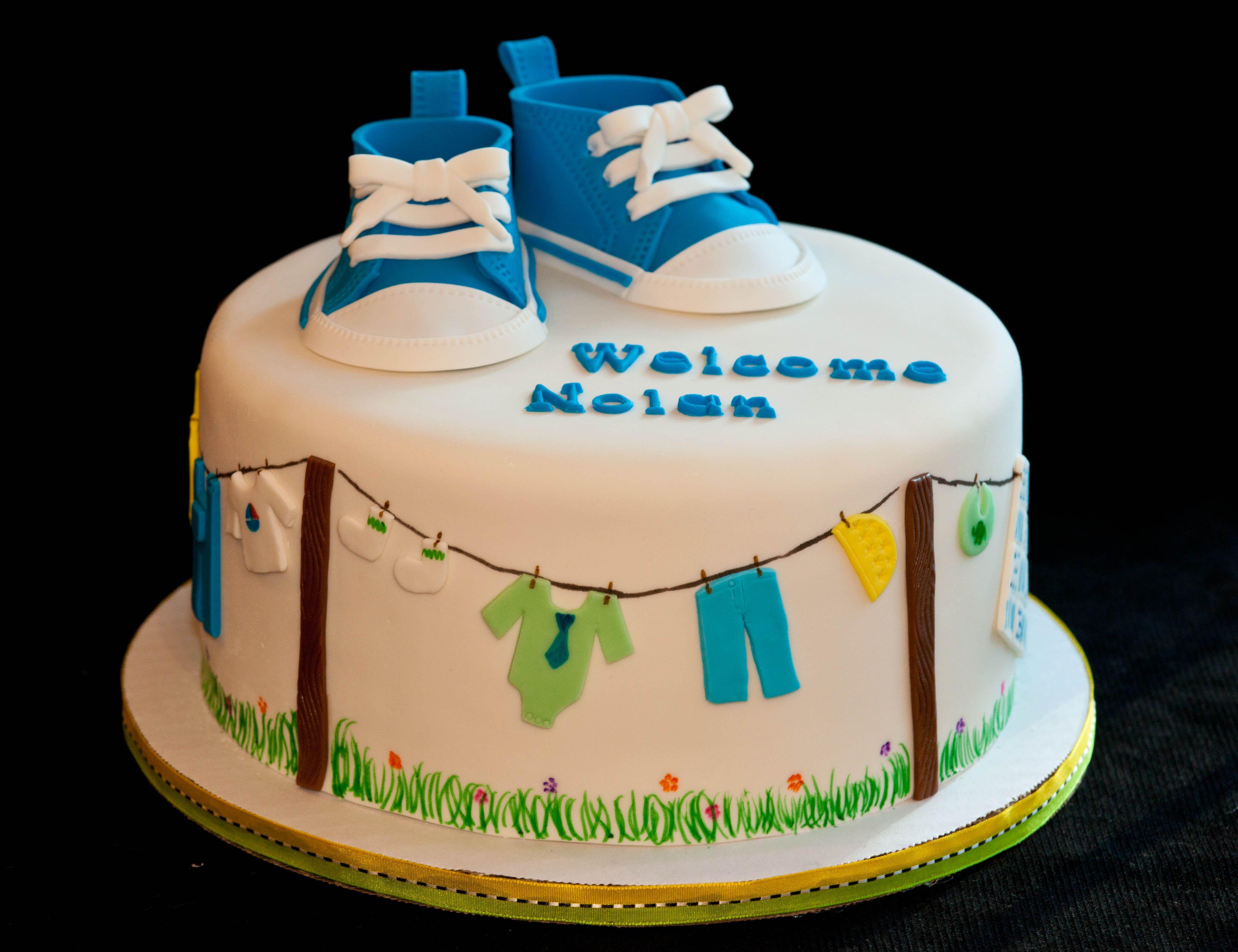 Red Velvet Cake Recipe Kenya: Converse Shoes And Clothesline Cake