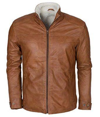 Brown Fur Lined Designer Italian leather Jacket | Black
