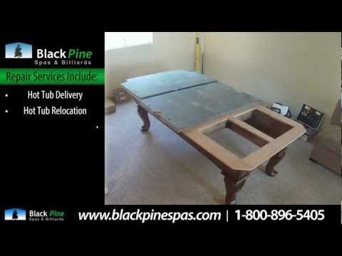 Hot Tub Pool Table Repair Services Near Seattle Black Pine - Pool table repair near me