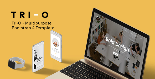 Tri O Multipurpose Bootstrap 4 Template Is A Mive Html That Carries Bulk Of Readymade Pages We Have Developed This After Hours
