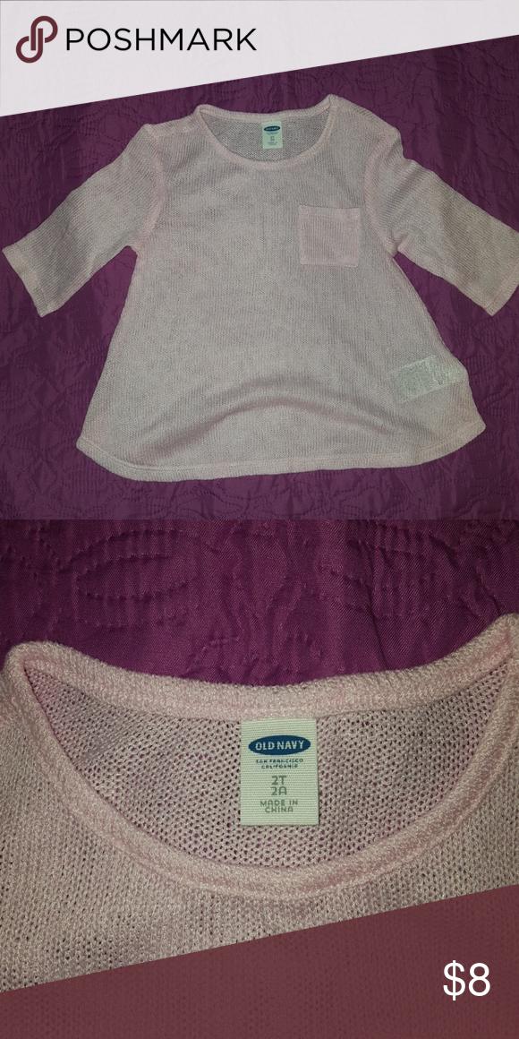 Girls 2t lightweight sweater | Summer sweaters, Navy shirts and ...