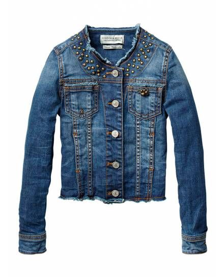 Tailored jacket with studs - Jackets - Official Scotch & Soda Online Fashion & Apparel Shops