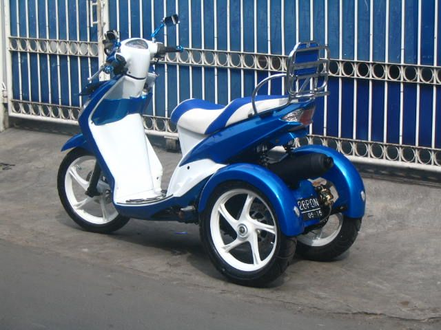 Modifikasi Motor 3 Roda
