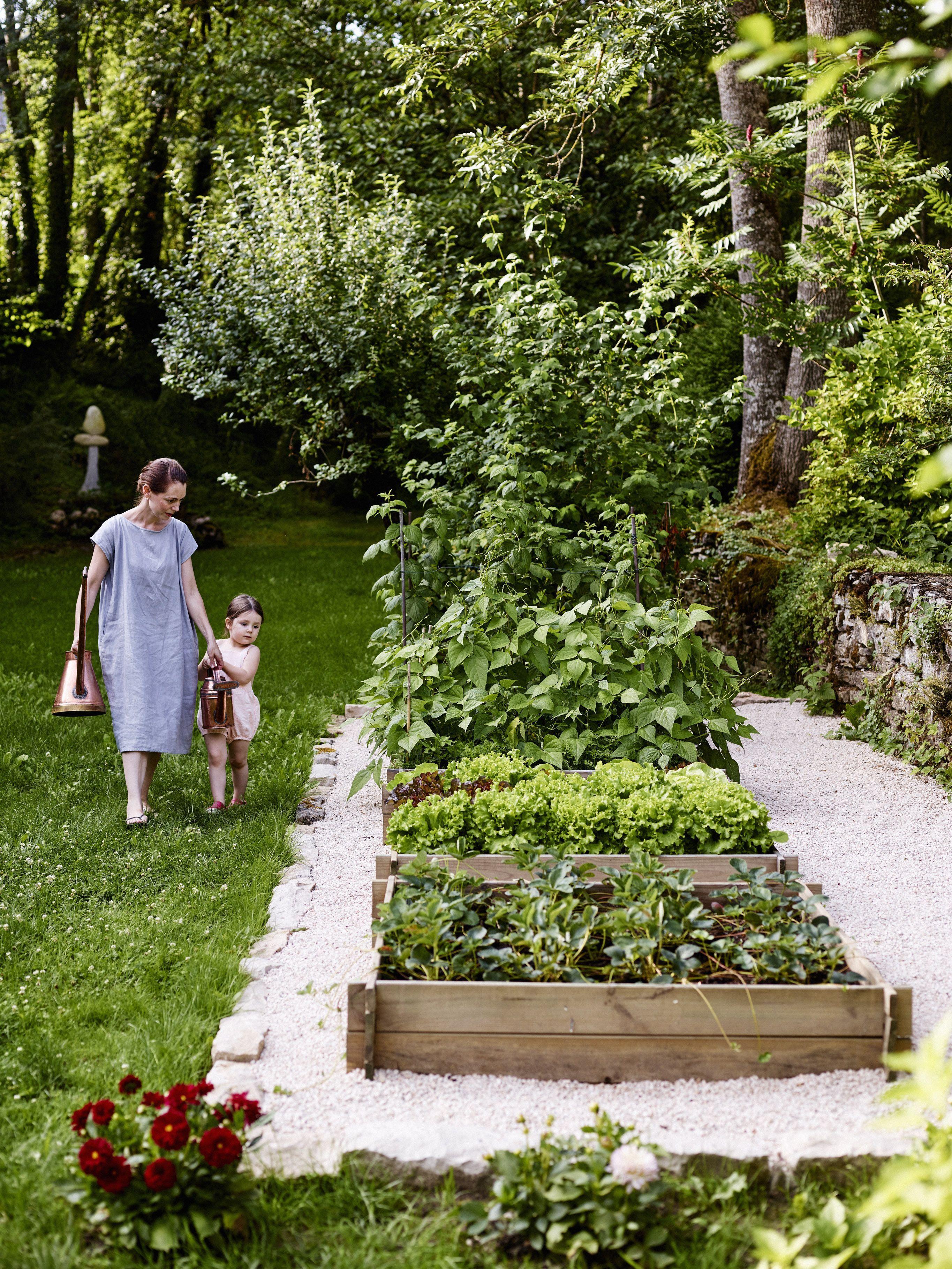 the cook s atelier kitchen garden in burgundy france image by anson smart thecooksatelier on kitchen garden id=96700
