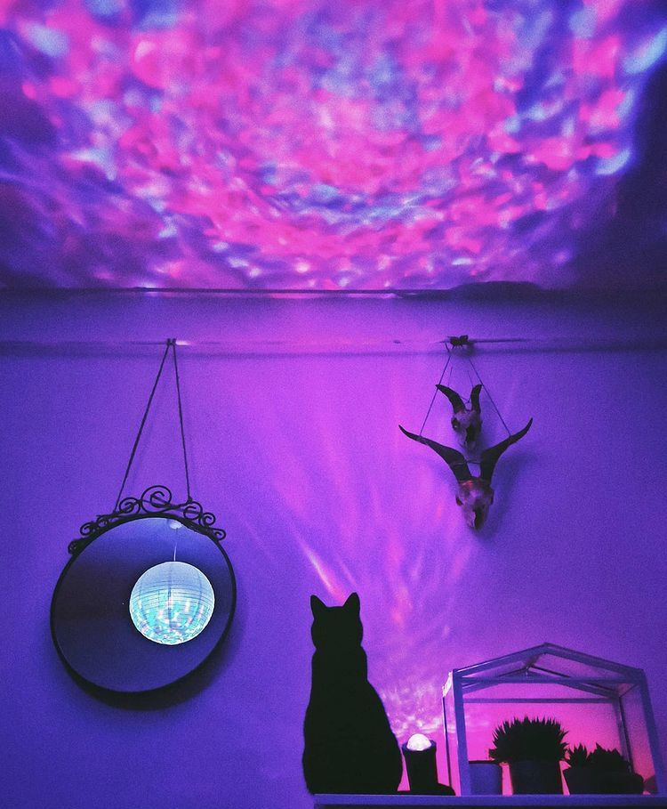 Tiktok Room Decoration Galaxy Light Projector Starry Lights Starry Night Light Sky Lamp