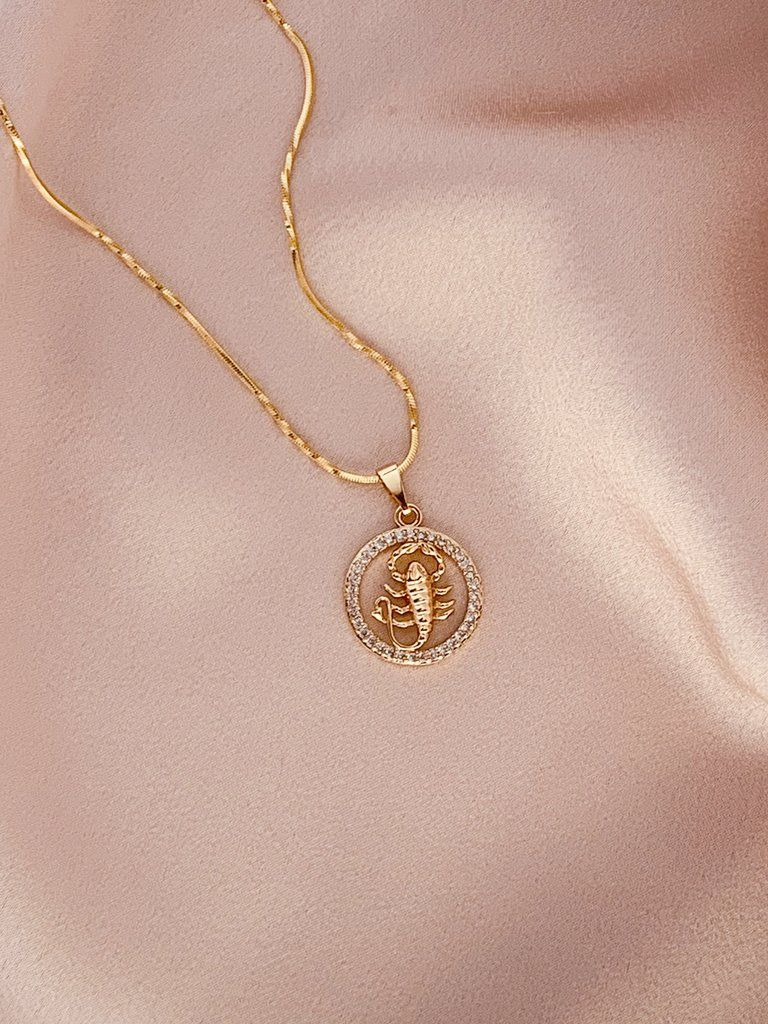 Rose Gold-plated Silver 19mm Dragon Pendant