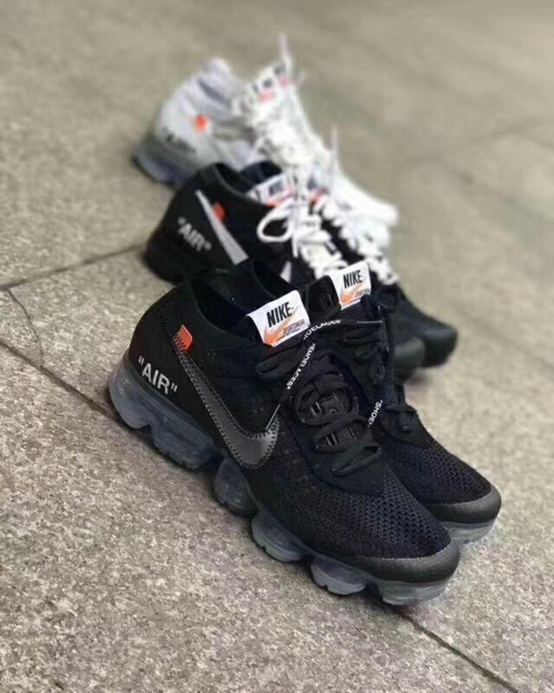 f90b07d124591 Virgil Abloh OFF-WHITE x Nike air vapormax Flyknit 2018  MensFashionSneakers
