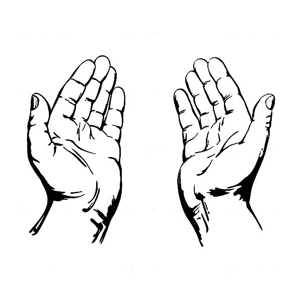 Praying Hands Coloring Page Best Place To Color In 2020 Praying Hands Praying Hands Tattoo Design Praying Hands Drawing