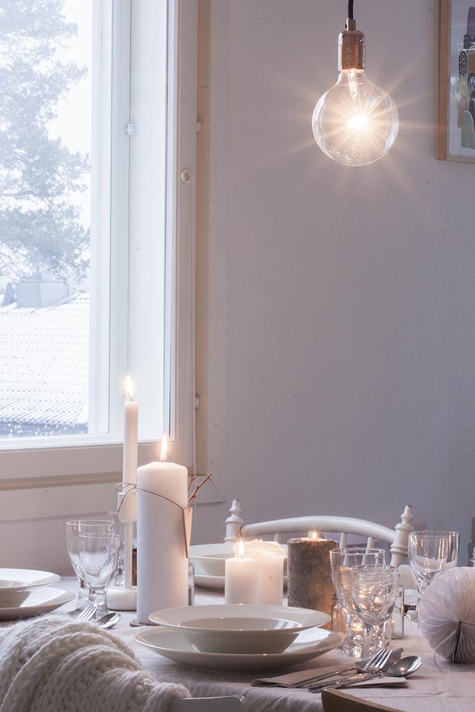 NO HOME WITHOUT YOU » WINTER TABLE SETTING – TALVEN TUNNELMAA RUOKAPÖYDÄSSÄ