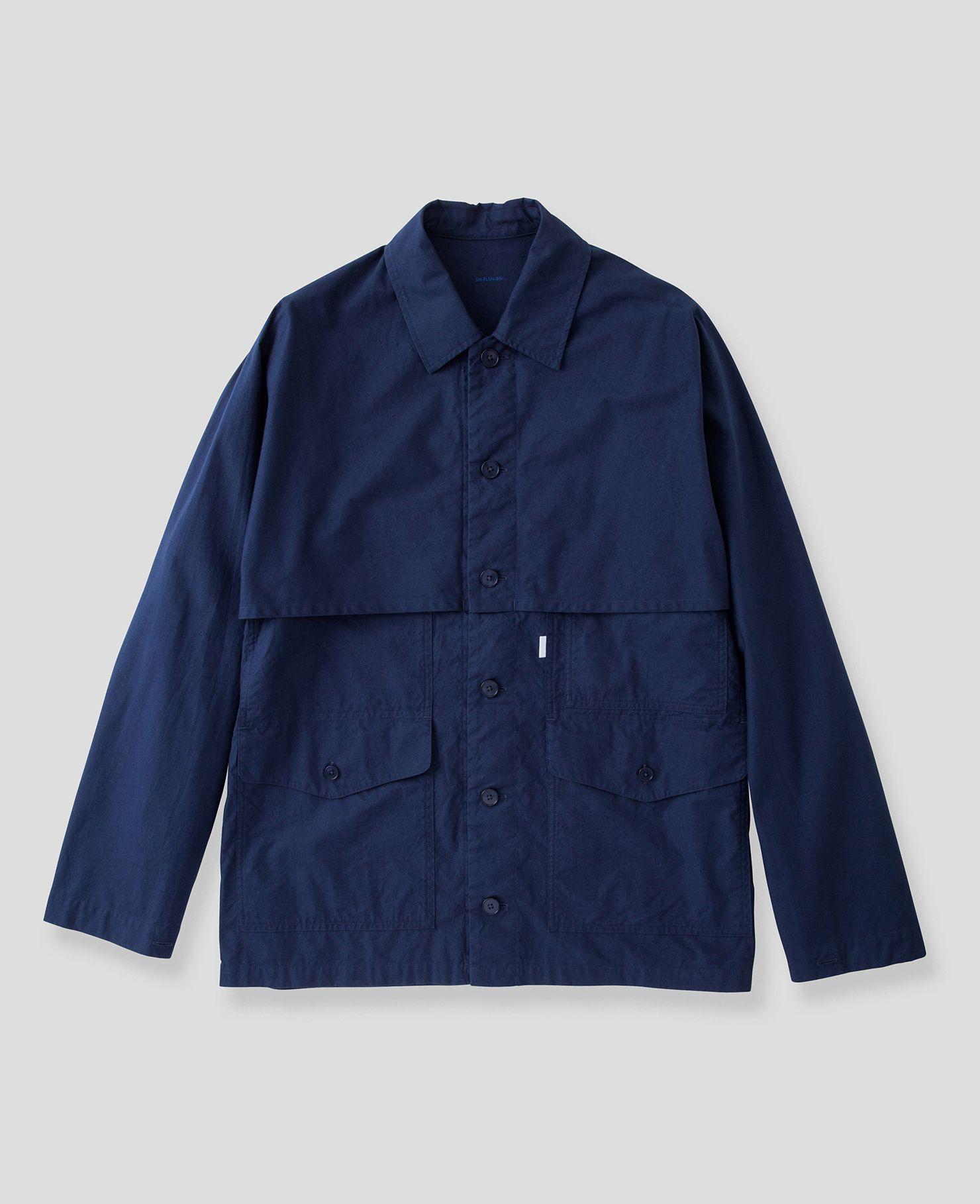 3c466c79f54 IHM-15 - Khaki Alpaca Lined Whipcord N1 Deck Half-Coat