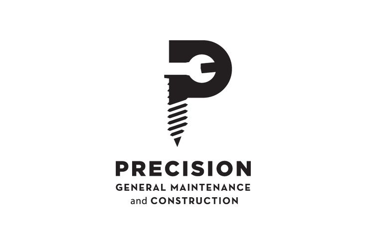 i think it is quite clever how various tools have been combined and incorporated to create the letter 'P' for the company's name as well as give an indication as to what they do.