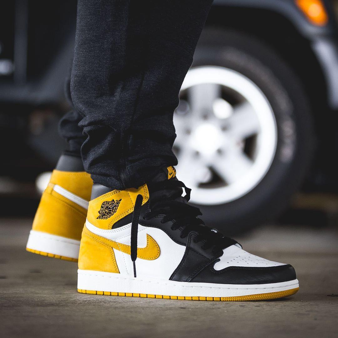 pretty nice 0e1e7 3cf88 Release Date   May 9, 2018 Air Jordan 1 Yellow Ochre   Black Credit   Afew  Store