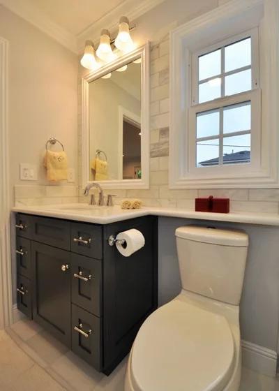 5 Ways With A 5 By 8 Foot Bathroom Caesarstone Countertop Countertops Bathroom Countertops